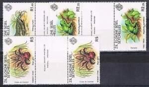 Seychelles-postfris-1981-MNH-30-32-brugpaar-Dieren-Animals-p428