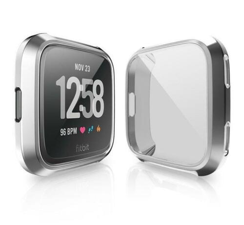 Shell Case Screen Protector Frame Cover For Fitbit Versa