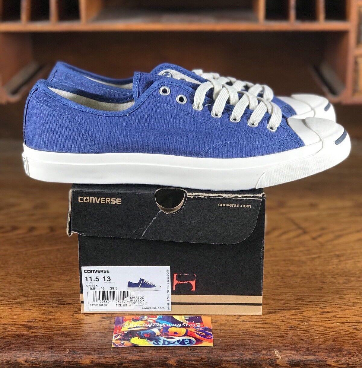 Converse Jack Top Purcell JP LTT buey bajo Top Jack Zapatos informales para hombres azul/blanco 498701