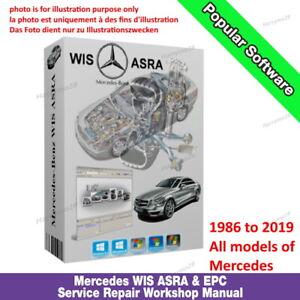 MERCEDES-BENZ-SMART-WIS-ASRA-EPC-Service-Repair-Werkstatthandbuch-1986-2019