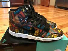 online retailer cbcf0 b6a4a item 6 NIKE DUNK HIGH PREMIUM SB GYM RED BLACK STAINED GLASS 313171 606  SIZE 9 -NIKE DUNK HIGH PREMIUM SB GYM RED BLACK STAINED GLASS 313171 606  SIZE 9