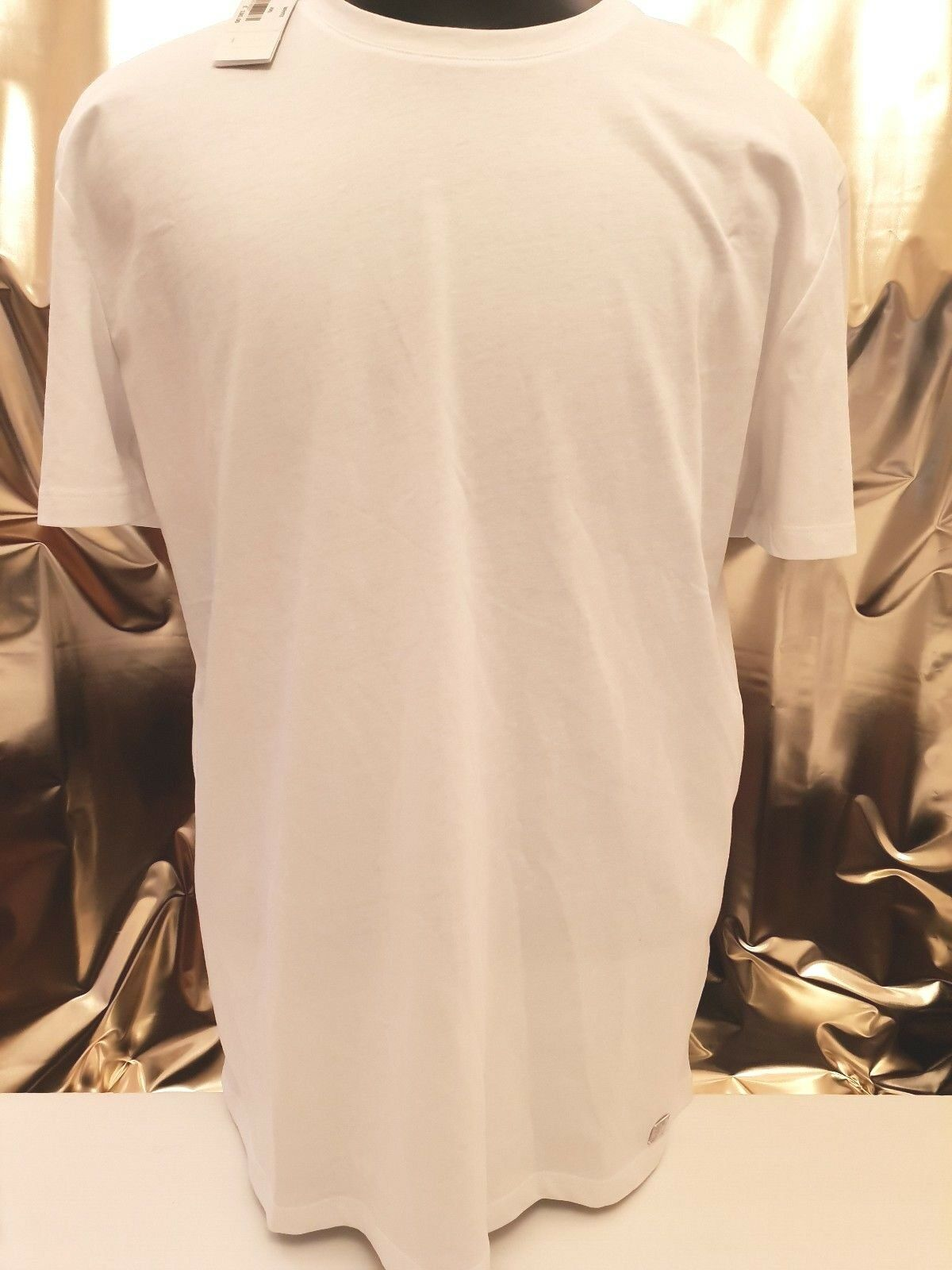 VERSACE COLLECTION HALF MEDUSA t-shirt size XXL in white  V800683 VJ00413