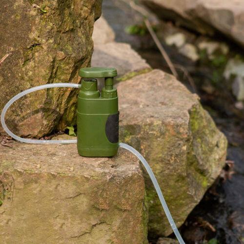Überleben Wasser Filter Stroh Reiniger Filtration System Notfall Familie