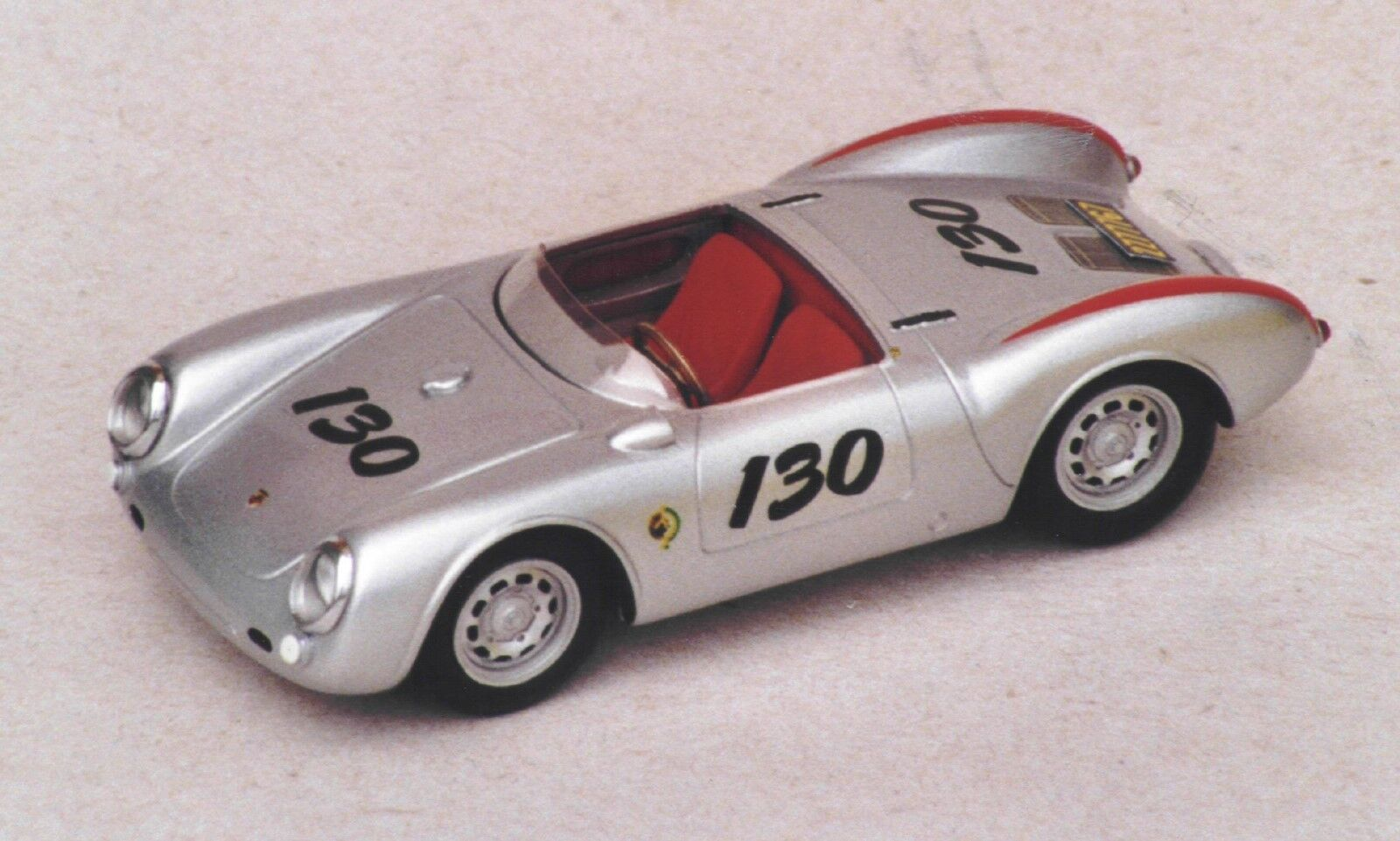 PORSCHE  550  SPYDER  JAMES  DEAN  VROOM  1/43  MONTE  BUILT  UP  NO  SPARK