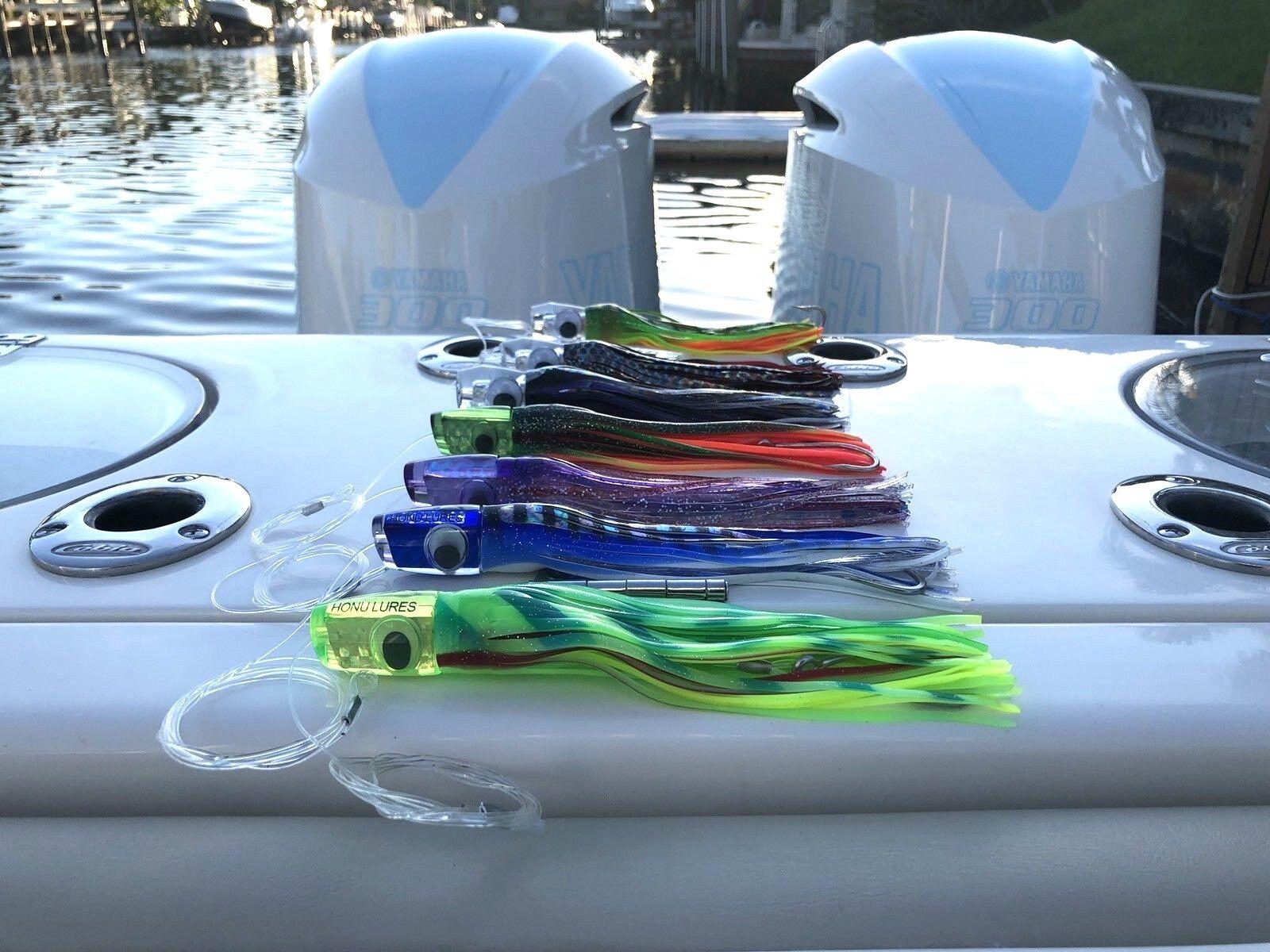 Gran Juego De Agua Salada Trolling Señuelos Marlin, mahi, Delfín,, pez vela, atún