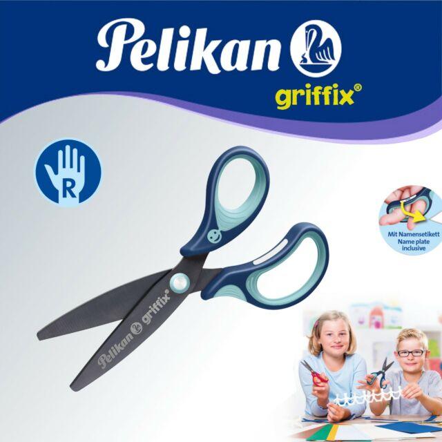 Pelikan griffix Schere blau für Rechtshänder