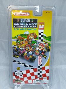 Nintendo-Super-Mario-Kart-LCD-Wrist-Watch-Mario-Brand-New-1994