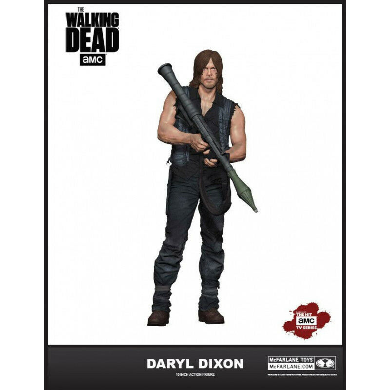 The Walre Dead  Daryl Dixon with Rocket Launcher 10 azione cifra