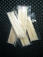 50 (5 PACKS OF 10) WOODEN DENTAL TOOTHPICKS WOOD tooth pick STICKS FLOSSERS