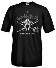 T-SHIRT MOVIE M25 Mordor, il Signore degli anelli, Frodo, Gandalf Gollum