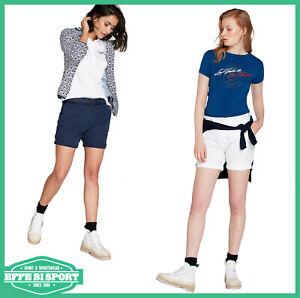 0f7bd42793 Dettagli su Pantalone corto donna North Sails bermuda cotone leggero  pantaloni casual chino