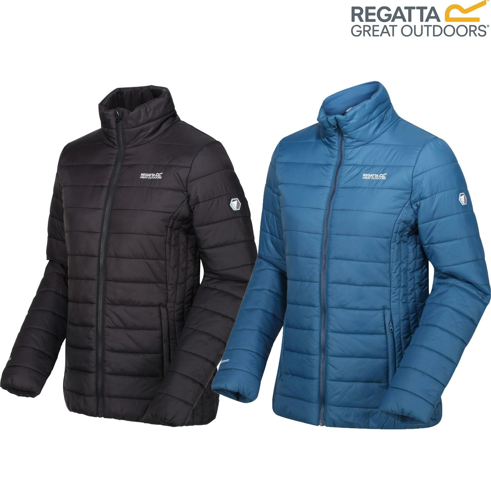 Regatta Womens Freezeway II Insulated Quilted Jacket Packable Coat