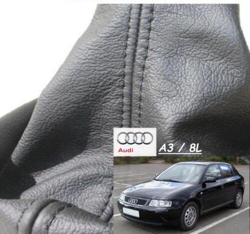 aus Echtleder Erstausrüsterqualität Maßgefertigter Schaltsack für Audi A3 8L