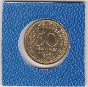 50-centimes-Frankreich-1962-Marianne-France-prima-Erhaltung