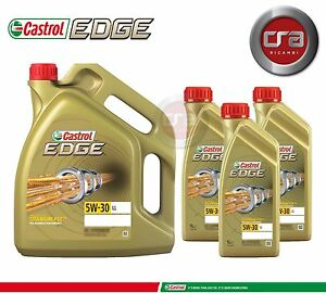 7 LT ENGINE OIL CASTROL EDGE 5W30 FST LONGLIFE (LL) VW 504.00 507.00