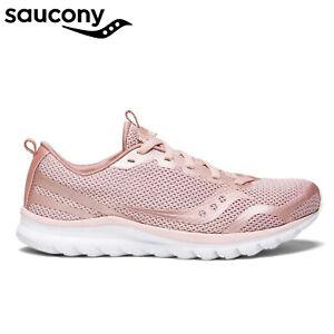 Saucony Women's LITEFORM FEEL Memory Foam Sneakers Runners Shoes - Blush