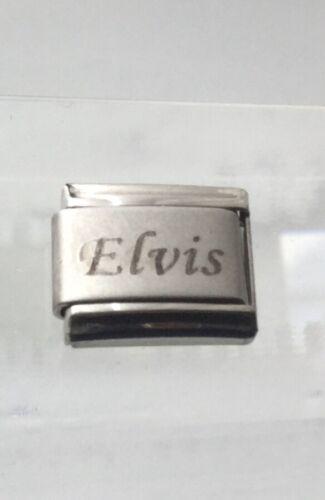 Fits 9mm classic Italian charm bracelets xxxxxxxxx Elvis Italian Charm