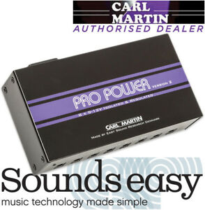 Carl-Martin-Pro-Power-VERSION-2-9-12v-Guitar-Pedal-Power-Supply-with-8-Outputs