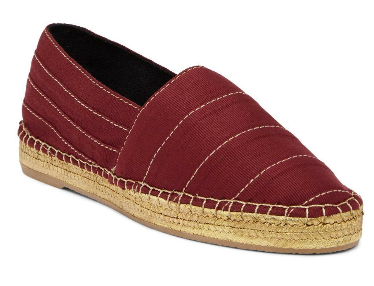 New in Box - 250 Jacobs Marc Jacobs 250 Sienna Bordeaux Espadrille Flat Größe 7 (37) 0dd879
