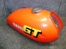 YAMAHA OEM GAS FUEL TANK PETRO RED GT80 GT 80 DT80 DT 1979-1980 ENDURO VINTAGE