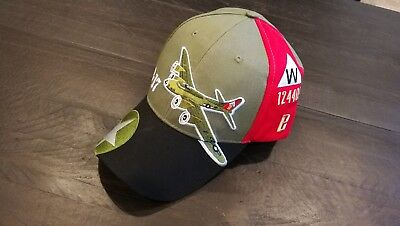 Red Canoe Boeing B17 Flying Fortress Cap Black OSFA