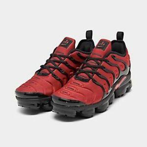 nike air vapormax plus black white red
