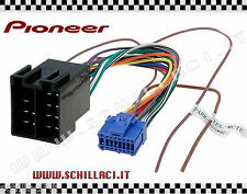 C192 - Connettore adattatore ISO autoradio PIONEER AVIC 16 pin per 2 DIN
