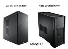 Intel Core i7-4790K 4.4GHz 16GB 500GB SSD 2TB Windows 7 10 Pro Custom Desktop PC