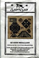 Little By Little Designs Co: Quaker Medallion