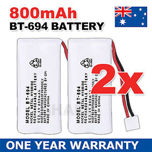 OZ-Just-for-Uniden-BT-694-BT-694S-Ni-MH-Cordless-Phone-Battery-2-4V-800mAh-2X