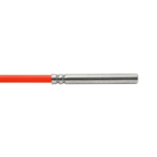 Pt100 5.0 m tubería de silicona hasta 200 ° C kabelfühler speicherfühler sonda