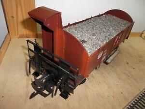 Magnus-Hoehne-Handworks-Metall-Handarbeitsmodell-Guterw-WBR-14-mit-Bremserhaus