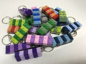 Bulk 30 Pieces Of Handmade LEGO Keychain