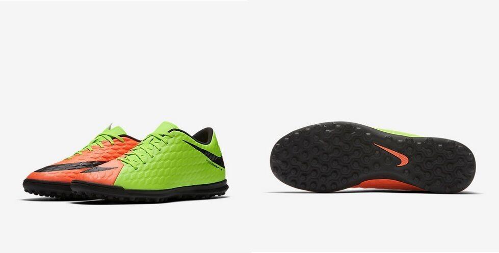 separation shoes 1862b f896c MAN FOOTBALL scarpe scarpe scarpe SCARPE CALCETTO NIKE HYPERVENOMX PHADE3  TF 852545 303 verde ad5404