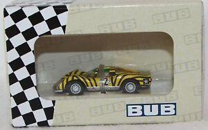 BUB-1-87-Metallmodell-08054-Edition-2007-Porsche-Carrera-6-limitiert-Neu