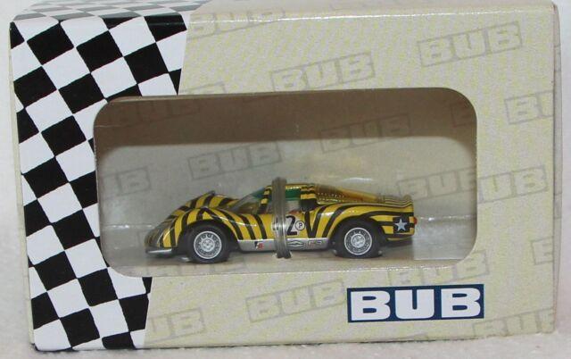 BUB 1:87 Metallmodell - 08054- Edition 2007 - Porsche Carrera 6 - limitiert Neu