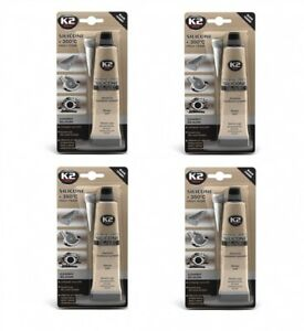 350° Schwarz 300g Autopflege & Aufbereitung K2 Silikon Silikon Hochtemperatur Dichtmasse