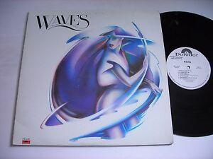 PROMO-Waves-Self-Titled-1977-LP-VG