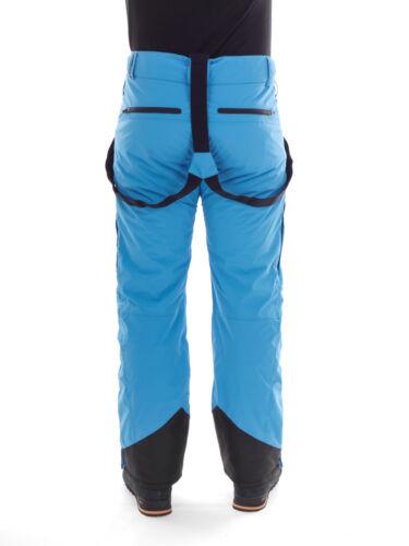 Brunotti Skihose Snowboardhose Funktionshose blau Damiro 15k Träger