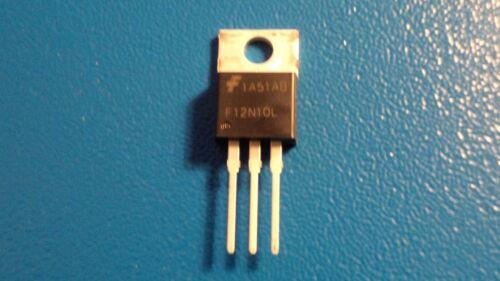 "RFP12N10L FAIRCHILD /""N/"" Channel Transistor Mosfet 100 V 12 A Qty = 1"