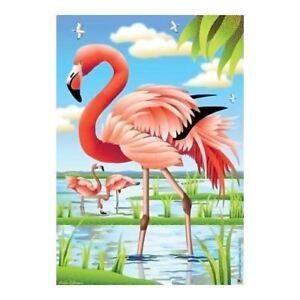 Flock of Flamingo Beauty House Size Flag - JFL166L   eBay