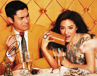 "Enthusiastic Henry Golding Authentic Hand-signed ""crazy Rich Asians"" 11x14 Photo Relieving Rheumatism And Cold Autographs-original"