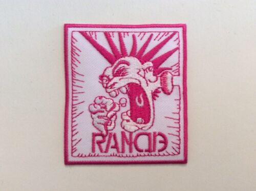 RANCID 6,5*7,5 CM NEUF M162 //// ECUSSON PATCH AUFNAHER TOPPA