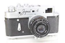 Zorki 4 Original Rangefinder Camera (based on Leica) With Industar 50mm/3.5 Lens