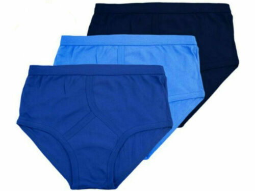 New Mens 3,12 Pairs Y Fronts Underwear Briefs 100/% Cotton Interlock Size S-2XL