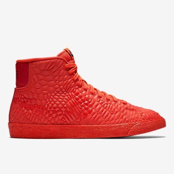 Wmns Nike Blazer de DMB-(Triple Rojo 807455 600 Nuevo