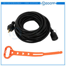 Generator Power Cord Extension Cord 40ft 30a L5 30p To L5 30r Locking Connector