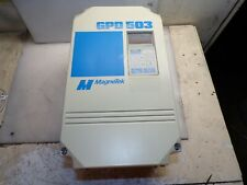 Magnetek 15 Hp Gpd 503 Vfd Variable Frequency Drive 460 Vac 3 Phase Ds317