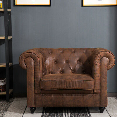 Deep Seat Furniture Leather Fabric