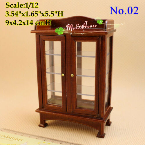 112 Dollhouse Miniatures Living Room Furniture China Cabinet